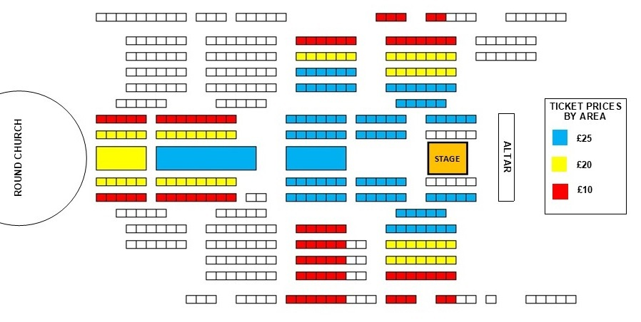 Seating plan Historical Fiction: Grace Davidson and Christian Forshaw